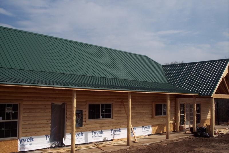 Metal Roofs Strader Building Inc